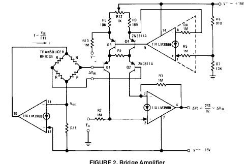 Fully Differential Input Voltage Amplifier