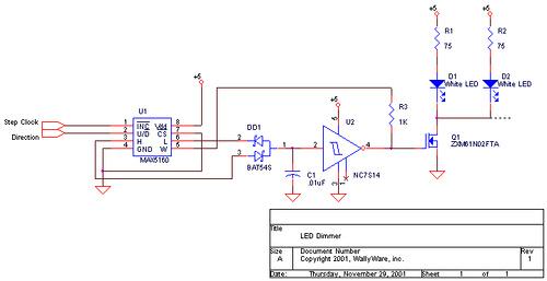 LED Lamp Dimmer