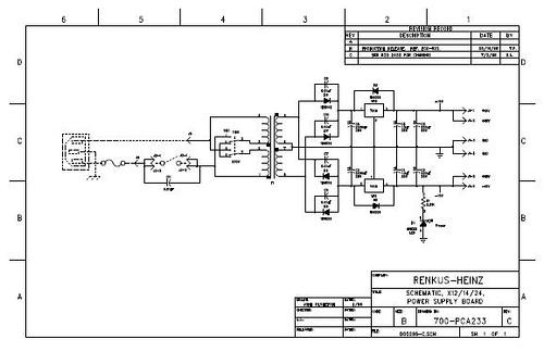 Renkus-Heinz Controller Power Supply