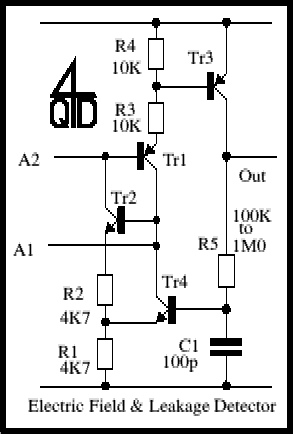 Electric Field and Leakage Detector