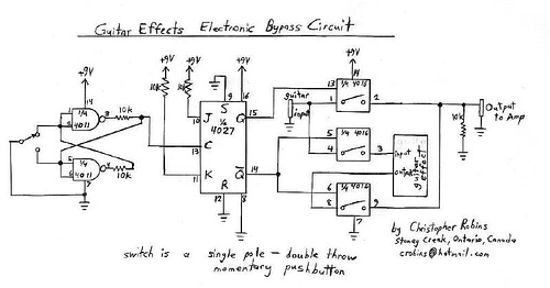 Guitar Effect Circuit