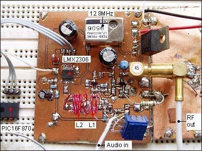 500mW FM PLL transmitter
