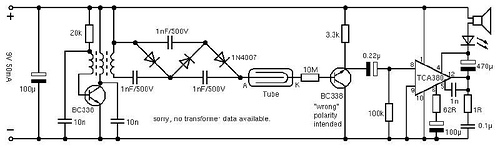 Simple Geiger Counter