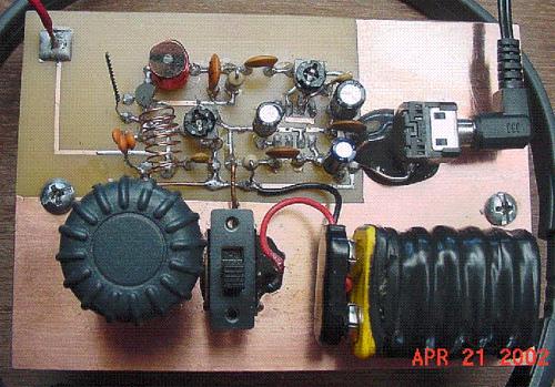 One Transistor FM Radio Project