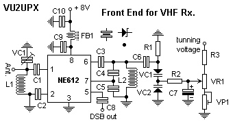 VHF Front End using NE612