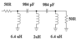 LC High-Pass Filters