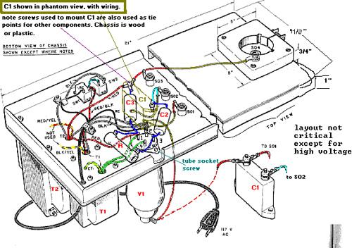 TUBE-type Oscillator-Driven Tesla Coil