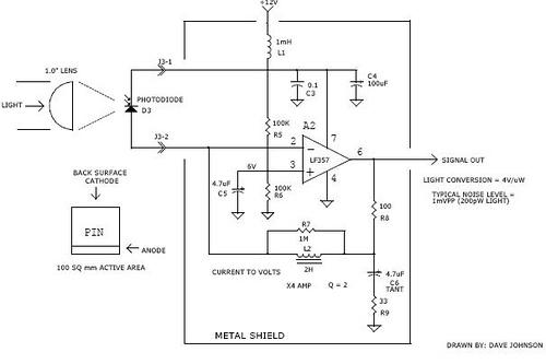 40KHz infrared light receiver