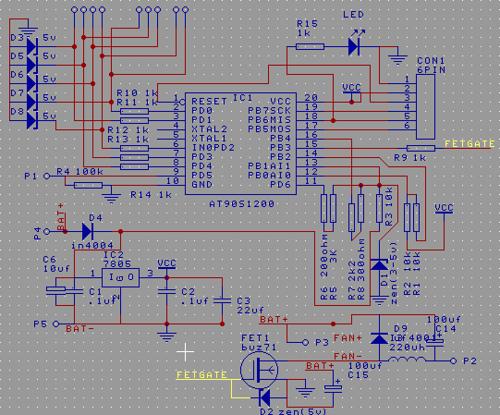 Micro based PIR to IR remote converter