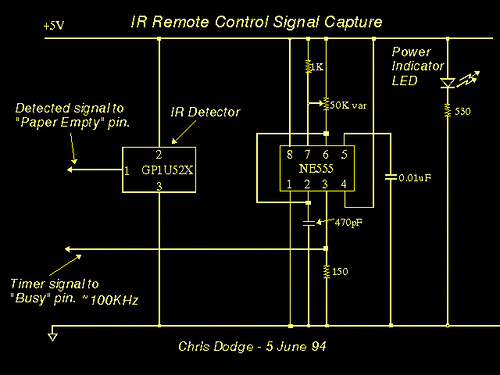 PC IR Remote Control Hardware