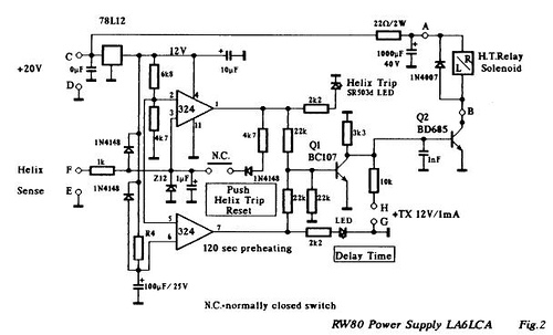 Simple TWT power supply