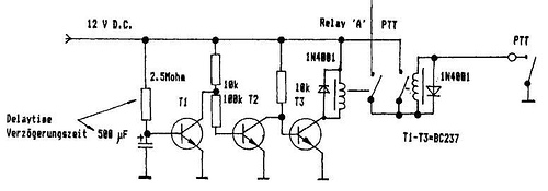 A simple power supply for TWT amplifiers