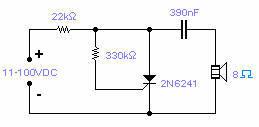 SCR Oscillator