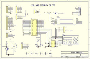 PIC LCD and Keypad driver