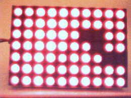 7 by 10 LED Moving Sign