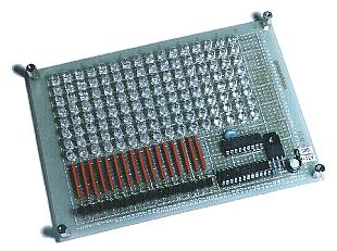 PIC16F84 LED signboard