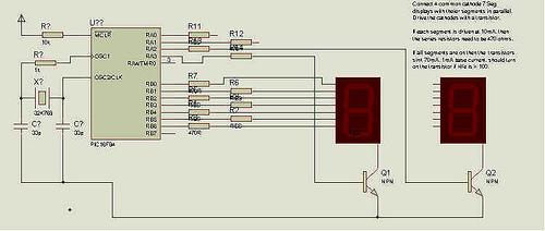 7 Segment LED sketches