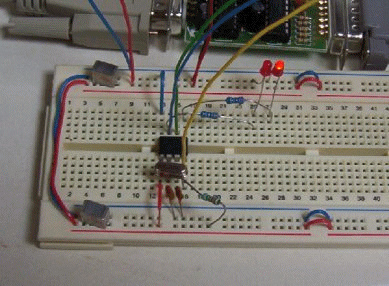 Flashing LED using 12F675