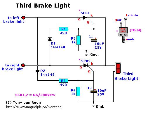 3rd brake light