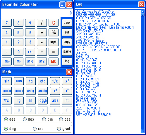 Beautiful Calculator