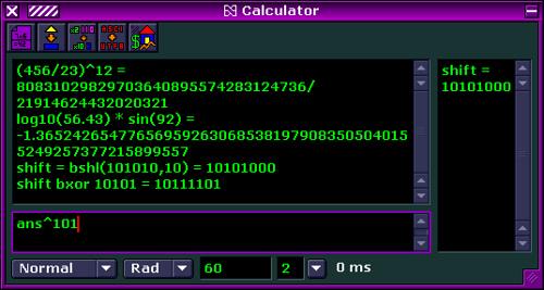 Haxial Calculator
