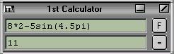 1st Calculator