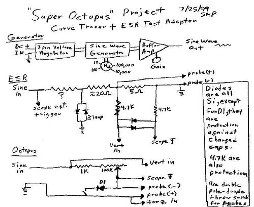Super Octopus & ESR Test Adapter Project