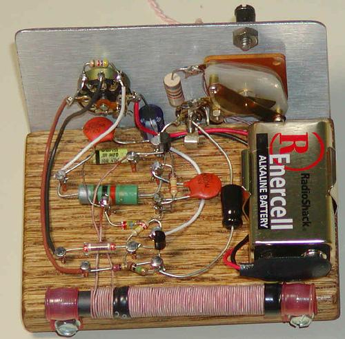 Two Transistor Reflex Radio