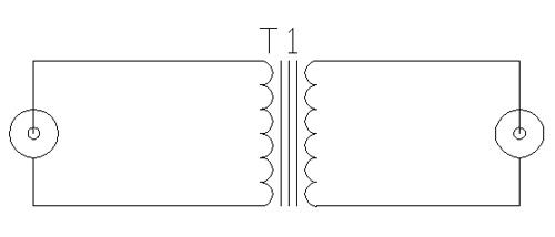 Audio line isolator