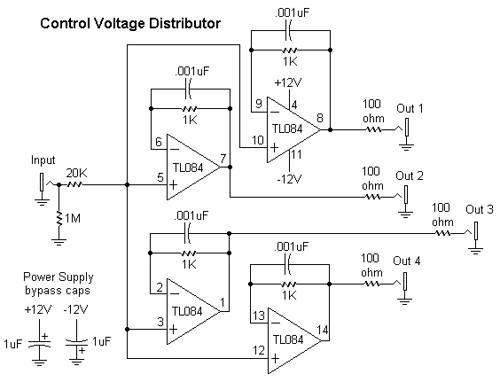 Control Voltage Distributor