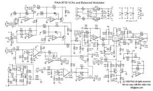 Voltage Controlled Mixer