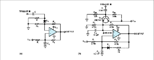 Slow op amp makes fast multivibrator