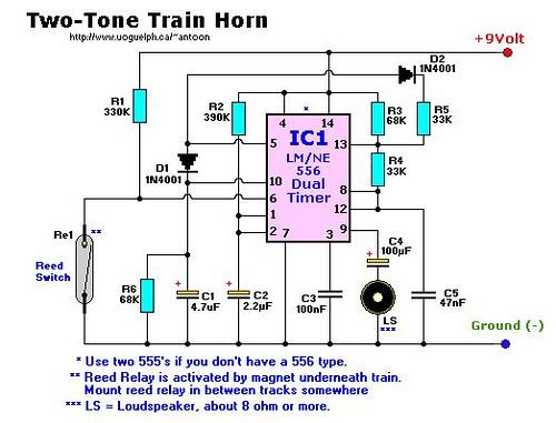 Two-Tone Train Horn