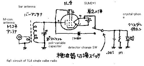 1L4 diode radio