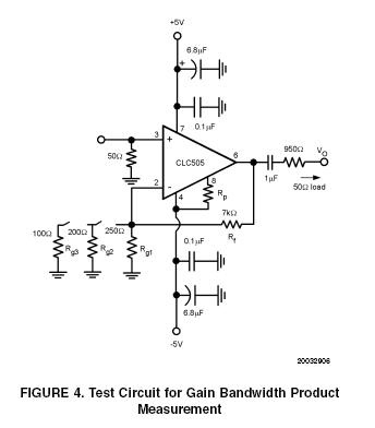 Wideband OpAmp Capable of MicroPower Operation