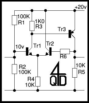 Discrete Op-Amp circuits
