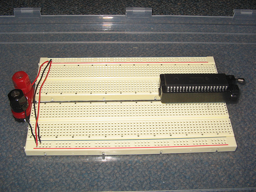 Make a Solderless Breadboard Carrier