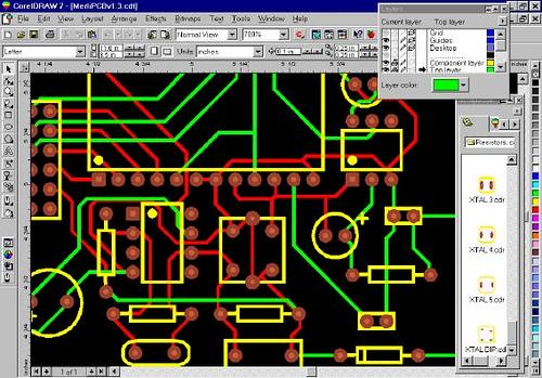 Merlin PCB Designer