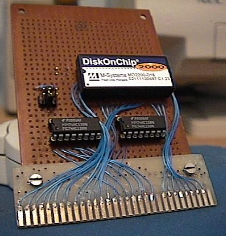 An ISA card for the DiskOnChip 2000