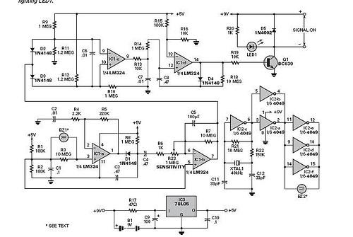 Ultrasonic Motion Detector