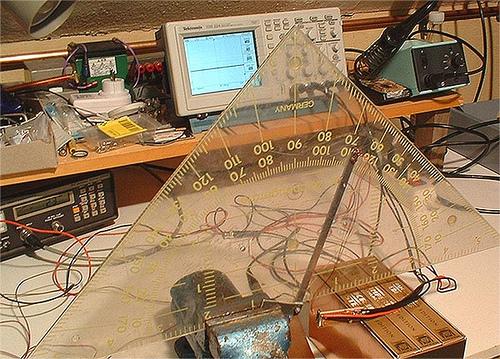 Using Analog Devices ADXL202E as Elevation Readout Sensor