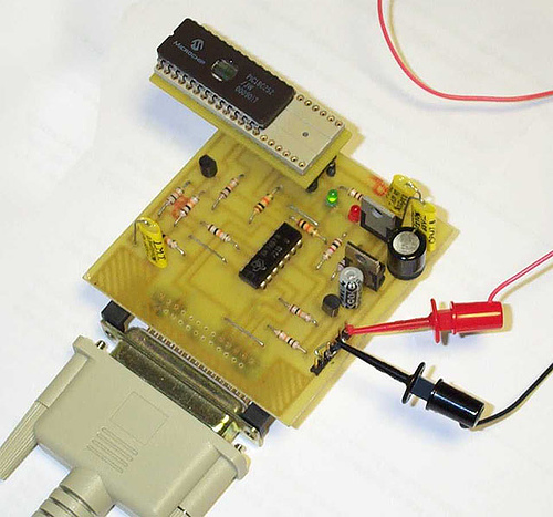 PIC 18 series programmer