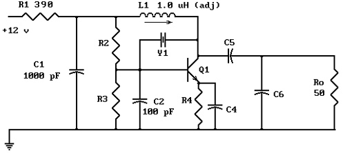 Pierce Oscillator Design