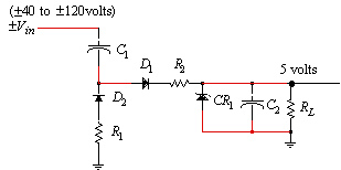 A Capacitor Coupled DC Power Supply for CATV Applications