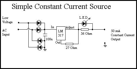 Simple Constant Current Source