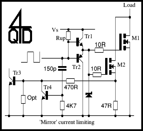 MOSFET current sensing