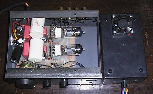 Car tube pre amplifier