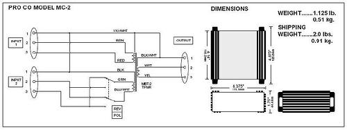 MC-2 Microphone Combiner