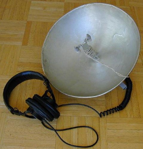 The Big-E Stereo Parabolic Microphone