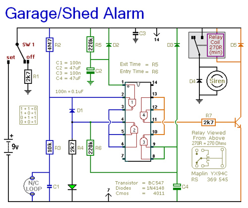 Shed and Garage Alarm